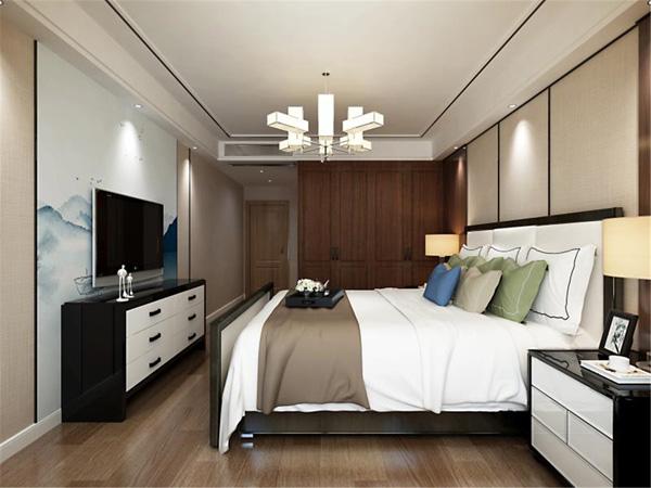 林州新中式家装风格效果图