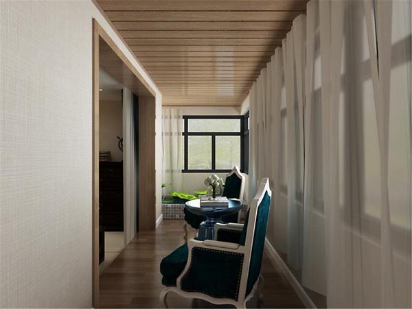 新中式家装样板间